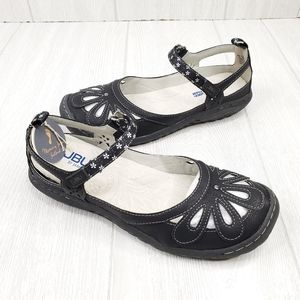 JBU Jambu Black Mary Jane Sandals 7